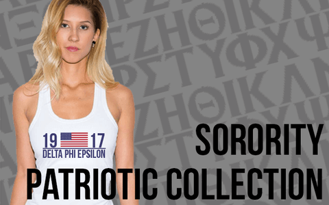 Sorority Patriotic Clothing