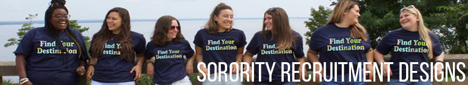 Sorority Recruitment Designs