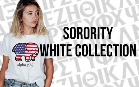 Sorority White Collection