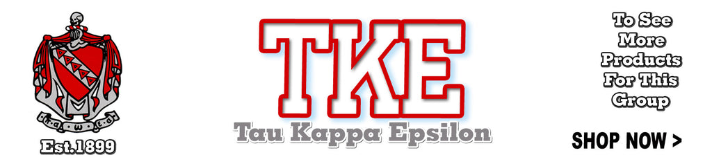 Tau Kappa Epsilon Fraternity clothing and Greek merchandise