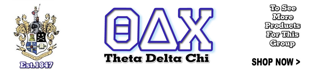 Theta Delta Chi Fraternity clothing and Custom Greek merchandise