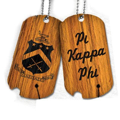 Something Greek Fraternity and Sorority Custom Dog Tags