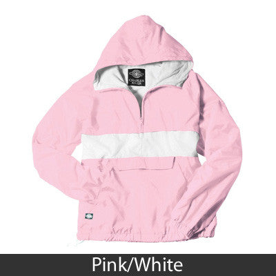 Sorority Rugby Striped Pullover - Charles River 9908 - TWILL