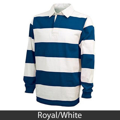 Greek Rugby Shirt with Crest - Charles River 9278 - EMB