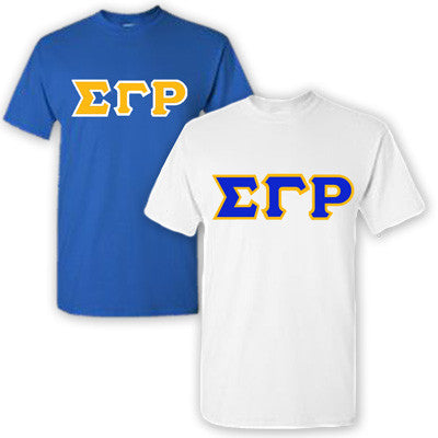 Sigma Gamma Rho Sorority 2 T-Shirt Pack - G500 - TWILL