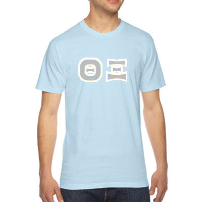 Theta Xi American Apparel Jersey Tee with Twill - American Apparel 2001 - TWILL