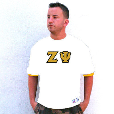 Zeta Psi Fraternity Jersey - Eagle T1239 - TWILL