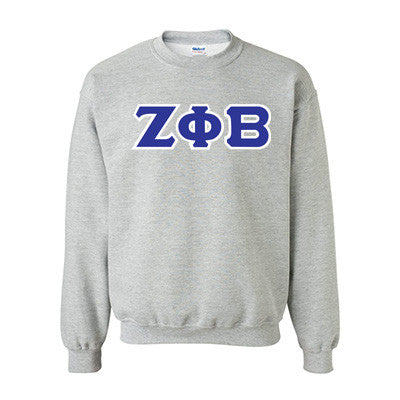 Zeta Phi Beta Standards Crewneck Sweatshirt - Gildan 18000 - TWILL