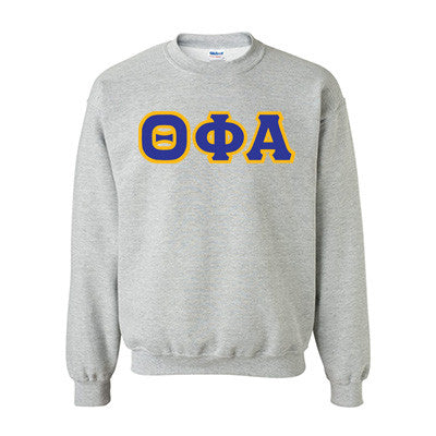 Theta Phi Alpha Standards Crewneck Sweatshirt - Gildan 18000 - TWILL