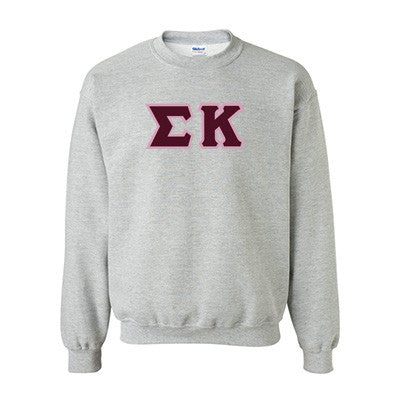 Sigma Kappa Standards Crewneck Sweatshirt - Gildan 18000 - TWILL