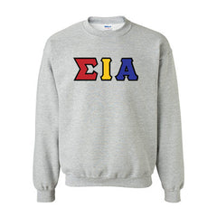 Sigma Iota Alpha Standards Crewneck Sweatshirt - Gildan 18000 - TWILL