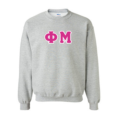 Phi Mu Standards Crewneck Sweatshirt - Gildan 18000 - TWILL