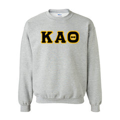 Kappa Alpha Theta Standards Crewneck Sweatshirt - Gildan 18000 - TWILL