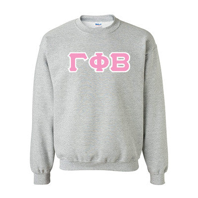 Gamma Phi Beta Standards Crewneck Sweatshirt - Gildan 18000 - TWILL