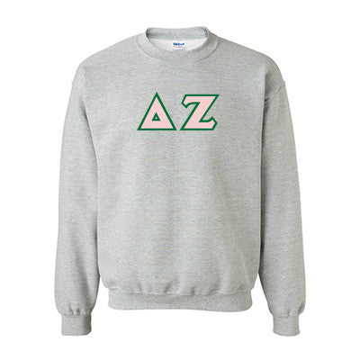 Delta Zeta Standards Crewneck Sweatshirt - Gildan 18000 - TWILL