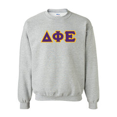 Delta Phi Epsilon Standards Crewneck Sweatshirt - Gildan 18000 - TWILL