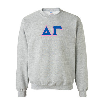 Delta Gamma Standards Crewneck Sweatshirt - Gildan 18000 - TWILL