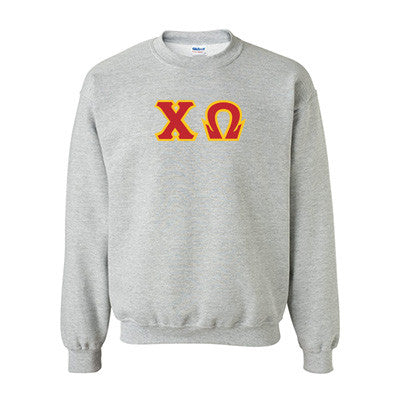 Chi Omega Standards Crewneck Sweatshirt - Gildan 18000 - TWILL