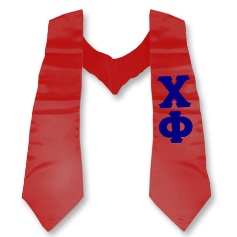 Chi Phi Printed Budget Graduation Stole - CAD
