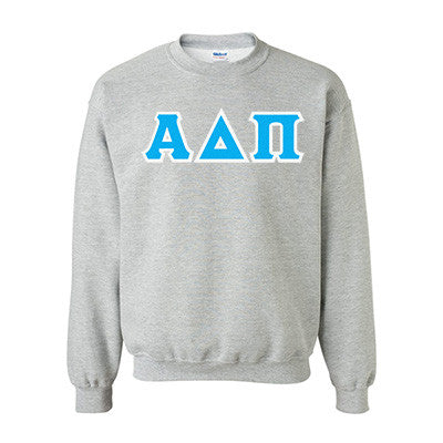 Alpha Delta Pi Standards Crewneck Sweatshirt - Gildan 18000 - TWILL
