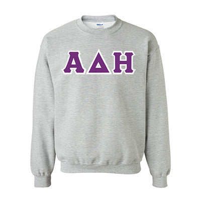 Alpha Delta Eta Standards Crewneck Sweatshirt - Gildan 18000 - TWILL