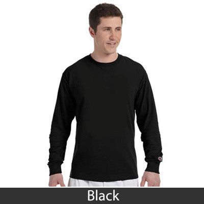 Phi Beta Sigma Champion Long-Sleeve Tee - Champion CC8C - TWILL