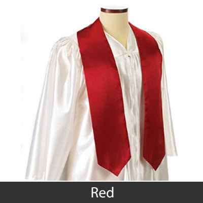 Kappa Delta Graduation Stole with Twill Letters - TWILL