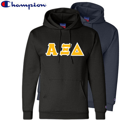Alpha Xi Delta 2 Champion Hoodies Pack - Champion S700 - TWILL