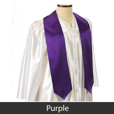 Delta Phi Epsilon Graduation Stole with Twill Letters - TWILL