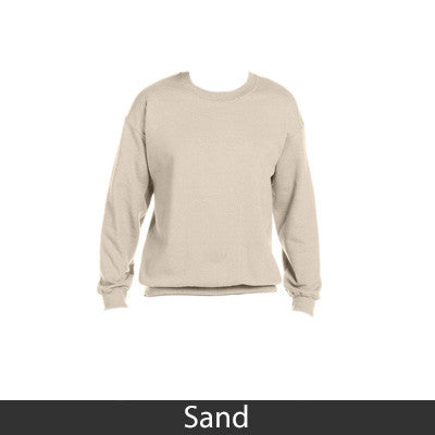 Alpha Epsilon Phi Sorority 8oz Crewneck Sweatshirt - Gildan 18000 - TWILL