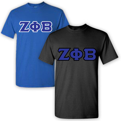Zeta Phi Beta Sorority 2 T-Shirt Pack - G500 - TWILL