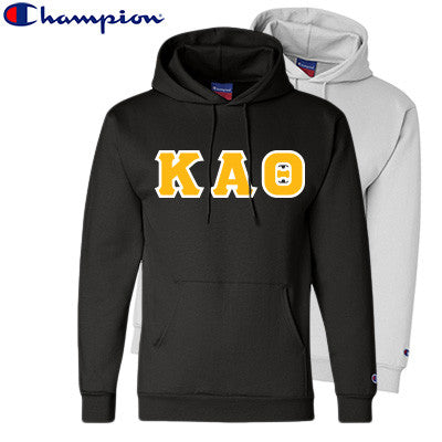 Kappa Alpha Theta 2 Champion Hoodies Pack - Champion S700 - TWILL