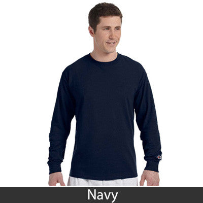 Phi Gamma Delta (FIJI) Champion Long-Sleeve Tee - Champion CC8C - TWILL