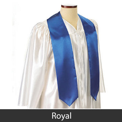 Alpha Delta Pi Graduation Stole with Twill Letters - TWILL