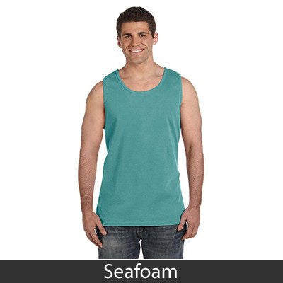 Fraternity Varsity Letter Printed Tank - Comfort Colors C9360 - CAD