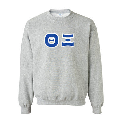 Theta Xi Fraternity Standards Crewneck Sweatshirt - Gildan 18000 - Twill