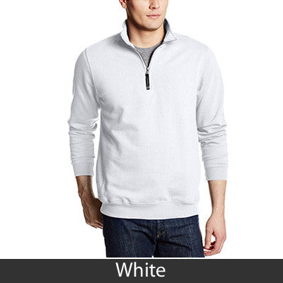 Fraternity Crosswind Embroidered Quarter Zip Sweatshirt - CR9359 - EMB