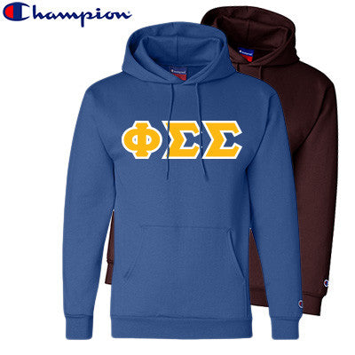 Phi Sigma Sigma 2 Champion Hoodies Pack - Champion S700 - TWILL
