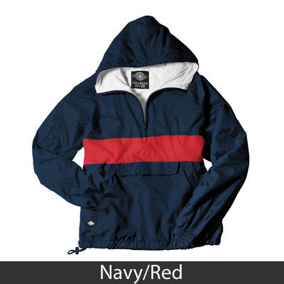Fraternity Rugby Striped Pullover - Charles River 9908 - TWILL