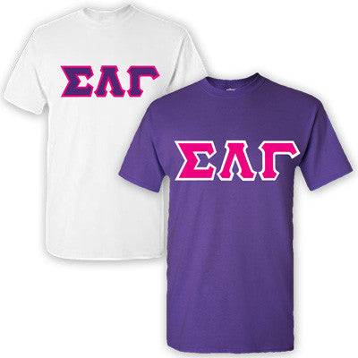 Sigma Lambda Gamma Sorority 2 T-Shirt Pack - G500 - TWILL