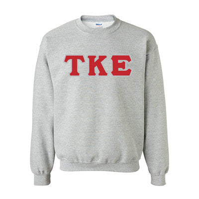 Tau Kappa Epsilon Fraternity Standards Crewneck Sweatshirt - Gildan 18000 - Twill