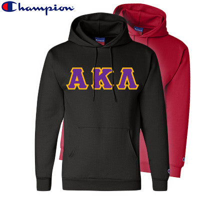 Alpha Kappa Lambda 2 Champion Hoodies Pack - Champion S700 - TWILL