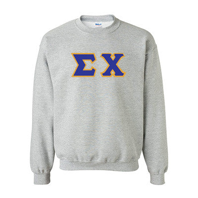 Sigma Chi Fraternity Standards Crewneck Sweatshirt - Gildan 18000 - Twill