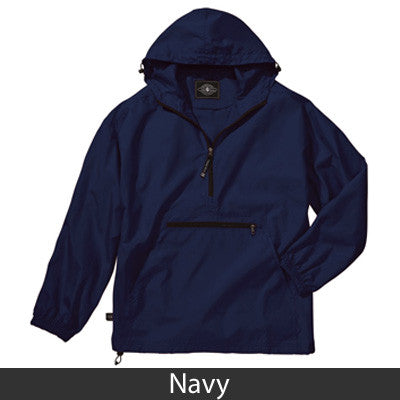 Fraternity Pack-N-Go Pullover - Charles River 9904 - EMB