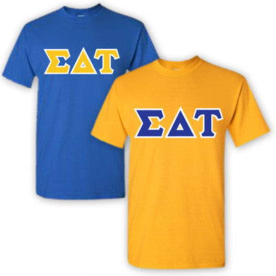 Sigma Delta Tau Sorority 2 T-Shirt Pack - G500 - TWILL