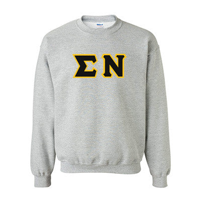 Sigma Nu Fraternity Standards Crewneck Sweatshirt - Gildan 18000 - Twill