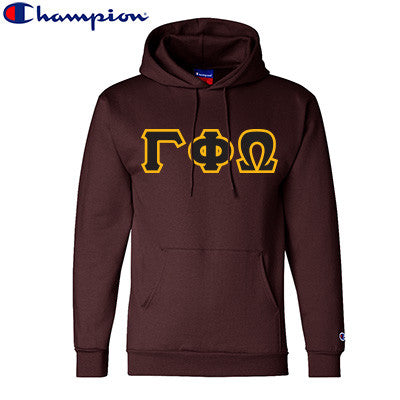 Gamma Phi Omega Champion Hooded Sweatshirt - Champion S700 - TWILL