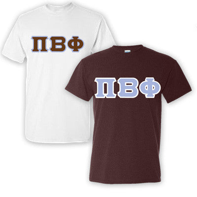 Pi Beta Phi Sorority 2 T-Shirt Pack - G500 - TWILL