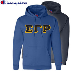 Sigma Gamma Rho 2 Champion Hoodies Pack - Champion S700 - TWILL