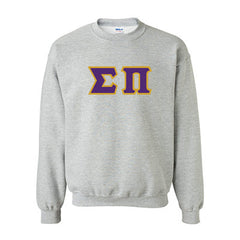 Sigma Pi Fraternity Standards Crewneck Sweatshirt - Gildan 18000 - Twill